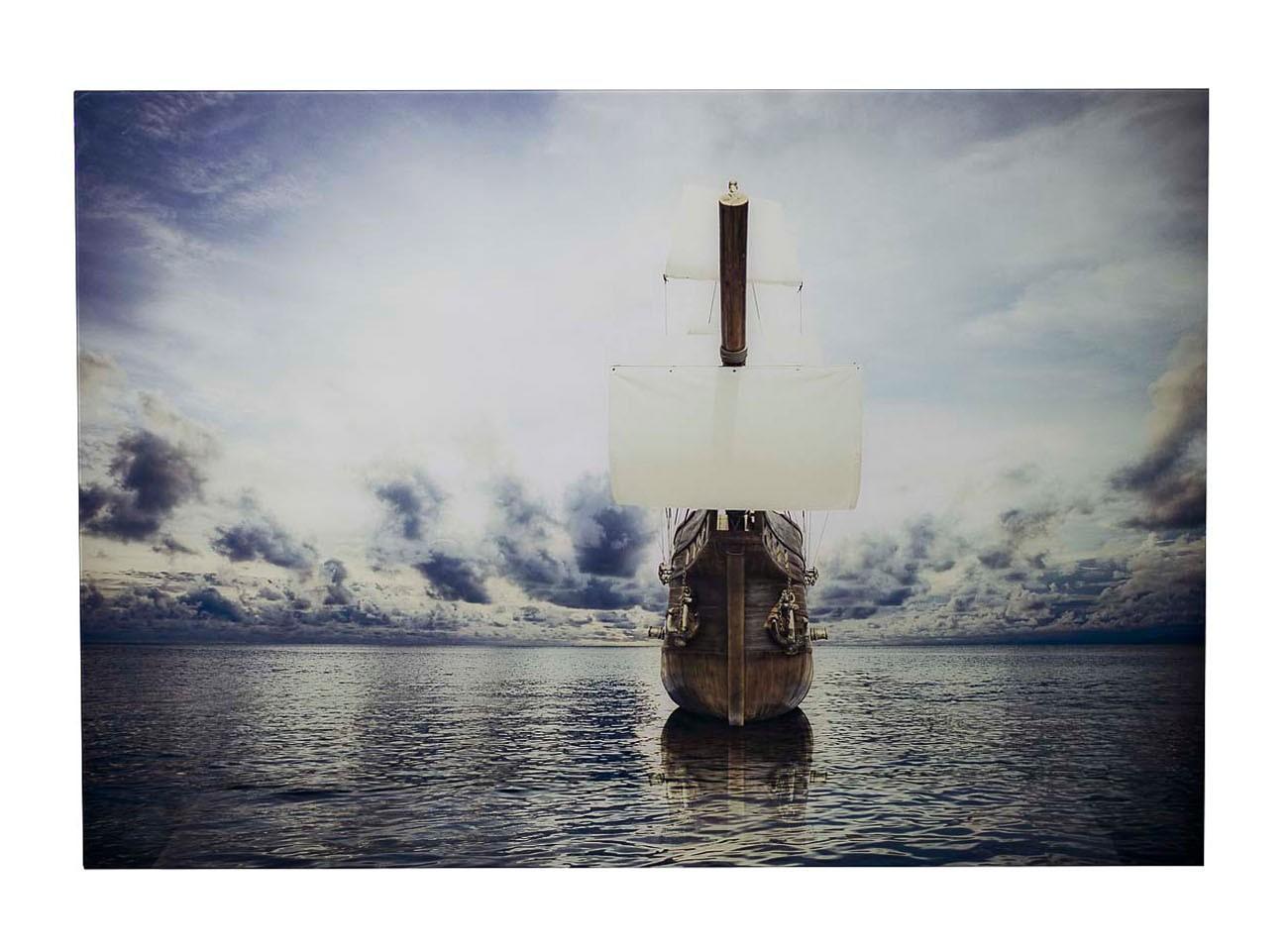 Панно стеклянное КорабльПанно<br>Материал: мдф, стекло.<br><br>Material: МДФ<br>Ширина см: 98<br>Высота см: 68<br>Глубина см: 1