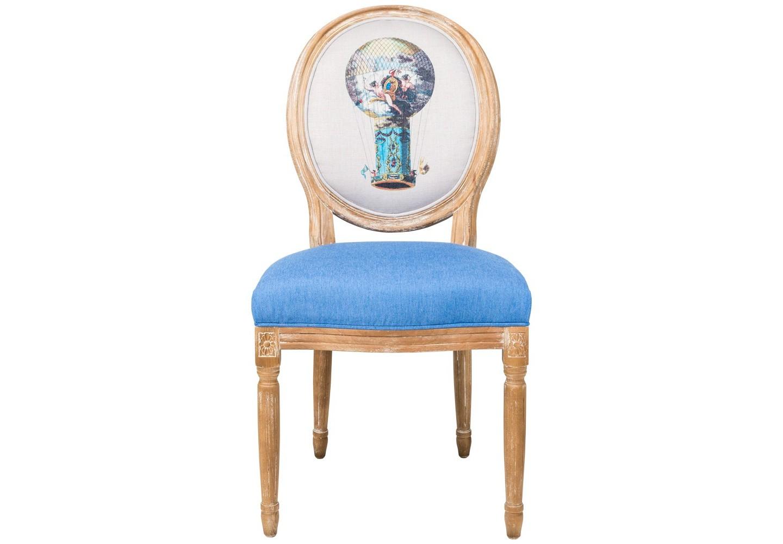 Стул «Розьер»Обеденные стулья<br>Название «Розьер» воздушный шар получил по имени изобретателя Жана-Франсуа Пилара де Розье. Став первым человеком, взлетевшим в небо на шаре братьев Монгольфье, Розье создал собственную модель воздушного шара. Его новшеством стала оболочка. Шар «Розьер» отличался фантастической конструкцией и невероятно красивым рисунком. Стул с изображением на спинке этого шара изготовлен из бука. Фактура древесины подчеркнута рукописной патиной. Обивка оснащена тефлоновым покрытием против пятен.&amp;lt;div&amp;gt;&amp;lt;br&amp;gt;&amp;lt;/div&amp;gt;&amp;lt;div&amp;gt;&amp;lt;br&amp;gt;&amp;lt;div&amp;gt;Материал: корпус - бук, обивка - 20% лен, 80% полиэстер с тефлоновым покрытием, подвеска из эластичных ремней.&amp;lt;br&amp;gt;&amp;lt;/div&amp;gt;&amp;lt;div&amp;gt;&amp;lt;br&amp;gt;&amp;lt;/div&amp;gt;&amp;lt;/div&amp;gt;<br><br>Material: Бук<br>Ширина см: 62<br>Высота см: 101<br>Глубина см: 50