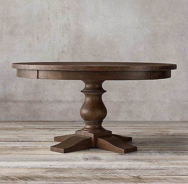 Обеденный стол MonasteryОбеденные столы<br><br><br>Material: Бук<br>Depth см: 75<br>Diameter см: 120
