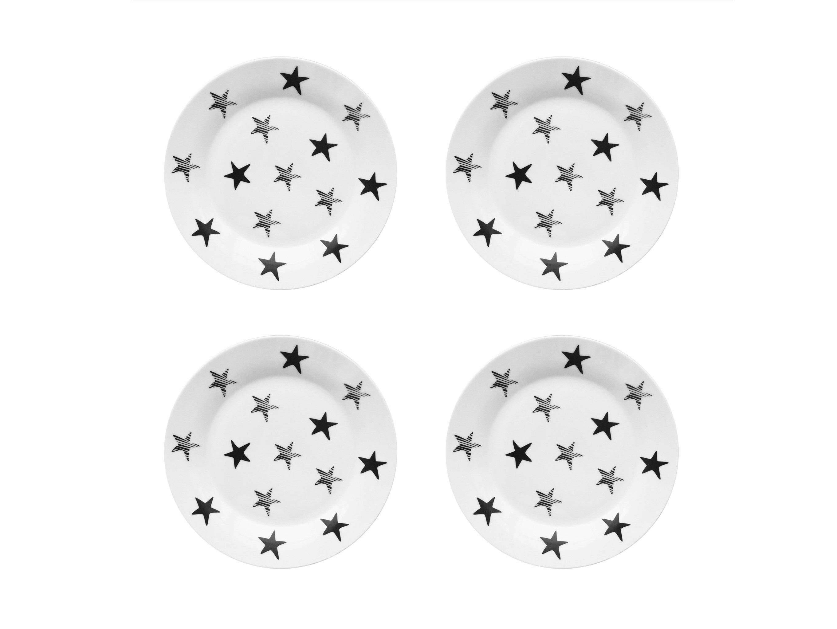 Набор тарелок My Little Star Vol.2 (4 шт)Тарелки<br>Посуду можно использовать в микроволновой печи и посудомоечной машине.&amp;lt;div&amp;gt;В комплект входят: Тарелка 20 см - 4 шт.&amp;lt;/div&amp;gt;<br><br>Material: Фарфор