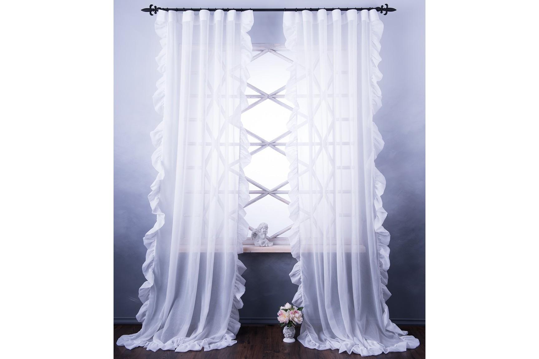 Комплект штор БэтсиШторы<br>Легкие портьеры (2 шт.) из декоративной ткани с рюшей на универсальной шторной ленте.&amp;amp;nbsp;&amp;lt;div&amp;gt;&amp;lt;br&amp;gt;&amp;lt;/div&amp;gt;&amp;lt;div&amp;gt;Состав ткани - 100% полиэстер.&amp;amp;nbsp;&amp;lt;/div&amp;gt;&amp;lt;div&amp;gt;Защита от солнца 3 из 10.&amp;amp;nbsp;&amp;lt;/div&amp;gt;&amp;lt;div&amp;gt;Размер 140х270 - 2 шт.&amp;lt;/div&amp;gt;<br><br>Material: Текстиль<br>Width см: 140<br>Height см: 270