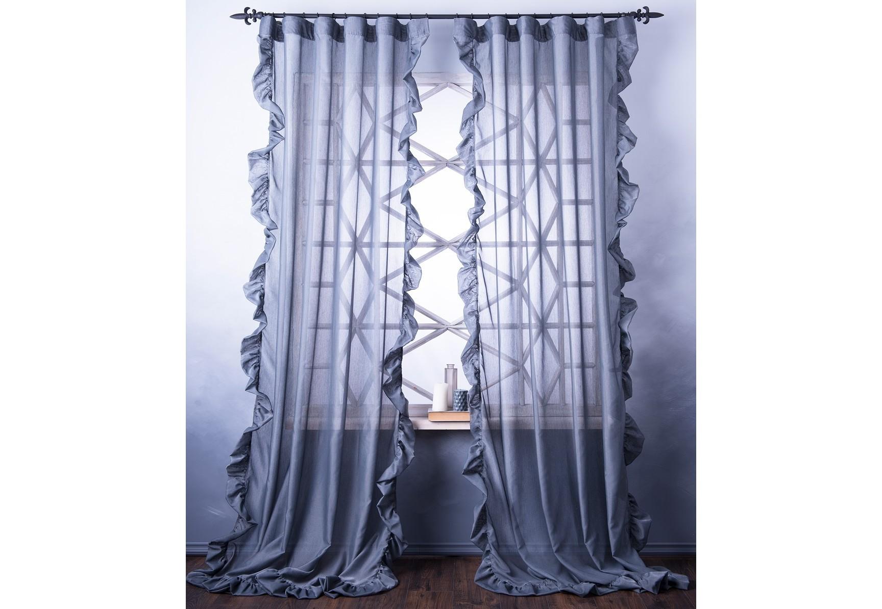 Комплект штор БэтсиШторы<br>Легкие портьеры (2 шт.) из декоративной ткани с рюшей на универсальной шторной ленте.&amp;amp;nbsp;&amp;lt;div&amp;gt;&amp;lt;br&amp;gt;&amp;lt;/div&amp;gt;&amp;lt;div&amp;gt;Состав ткани - 100% полиэстер.&amp;amp;nbsp;&amp;lt;/div&amp;gt;&amp;lt;div&amp;gt;Защита от солнца 3 из 10.&amp;amp;nbsp;&amp;lt;/div&amp;gt;&amp;lt;div&amp;gt;Размер 140х270 - 2 шт.&amp;lt;/div&amp;gt;<br><br>Material: Текстиль<br>Ширина см: 140.0<br>Высота см: 270.0
