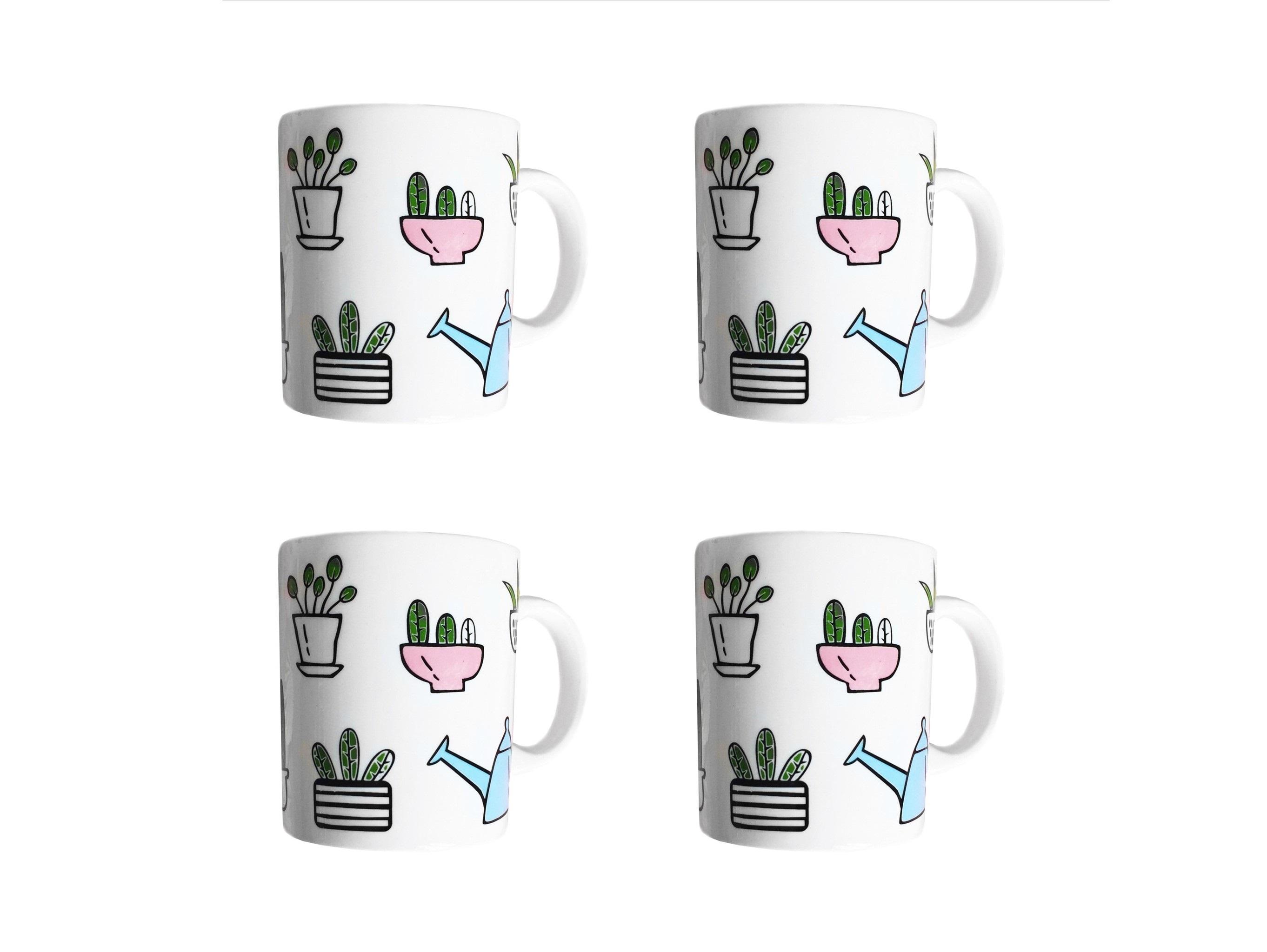 Набор кружек Домашний сад (4 шт)Чайные пары, чашки и кружки<br>Посуду можно использовать в микроволновой печи и посудомоечной машине.&amp;amp;nbsp;&amp;lt;div&amp;gt;&amp;lt;br&amp;gt;&amp;lt;/div&amp;gt;&amp;lt;div&amp;gt;В комплект входят: Кружка 300 мл - 4 шт.&amp;lt;/div&amp;gt;<br><br>Material: Фарфор<br>Высота см: 9