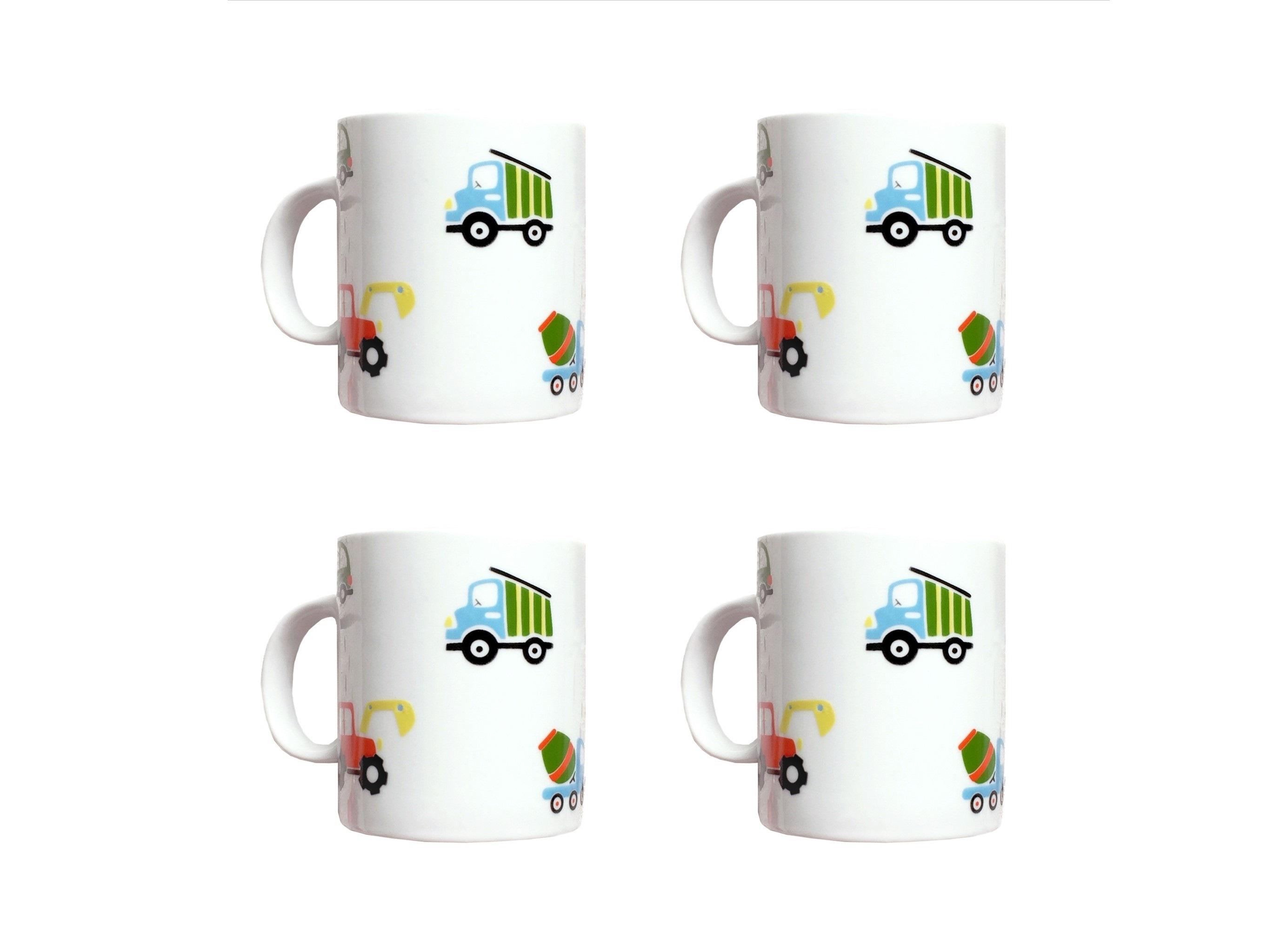 Набор кружек Машинки (4 шт)Чайные пары, чашки и кружки<br>Посуду можно использовать в микроволновой печи и посудомоечной машине.&amp;amp;nbsp;&amp;lt;div&amp;gt;&amp;lt;br&amp;gt;&amp;lt;/div&amp;gt;&amp;lt;div&amp;gt;В комплект входят: Кружка 300 мл - 4 шт.&amp;lt;/div&amp;gt;<br><br>Material: Фарфор<br>Высота см: 9