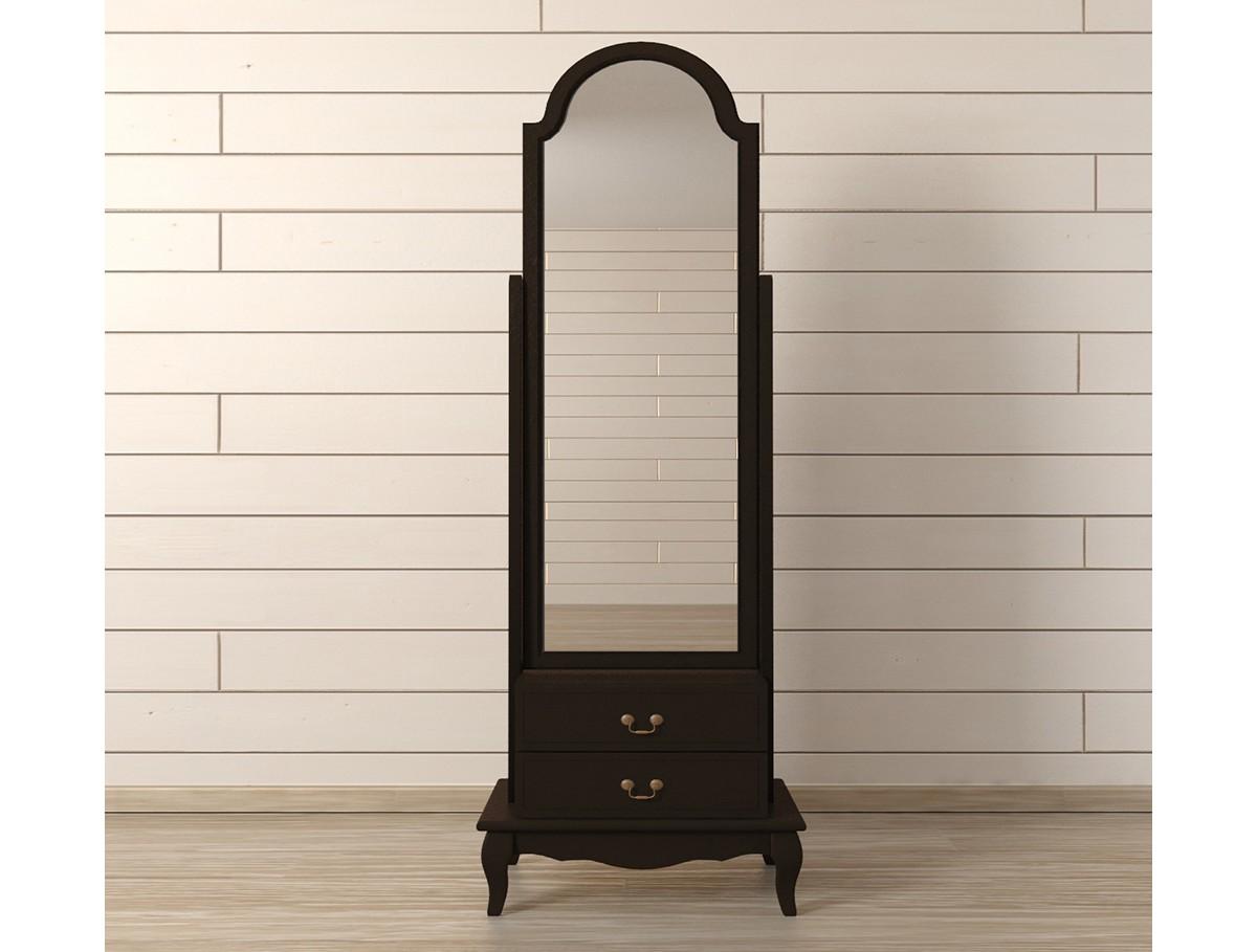 Зеркало напольное Leontina BlackНапольные зеркала<br><br><br>Material: Береза<br>Width см: 53<br>Depth см: 36<br>Height см: 172