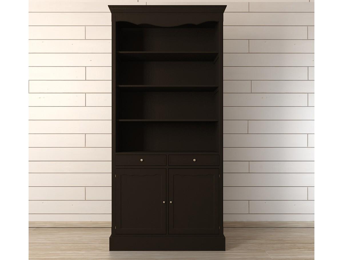 Шкаф Leontina BlackКнижные шкафы и библиотеки<br><br><br>Material: Береза<br>Width см: 104<br>Depth см: 40<br>Height см: 220