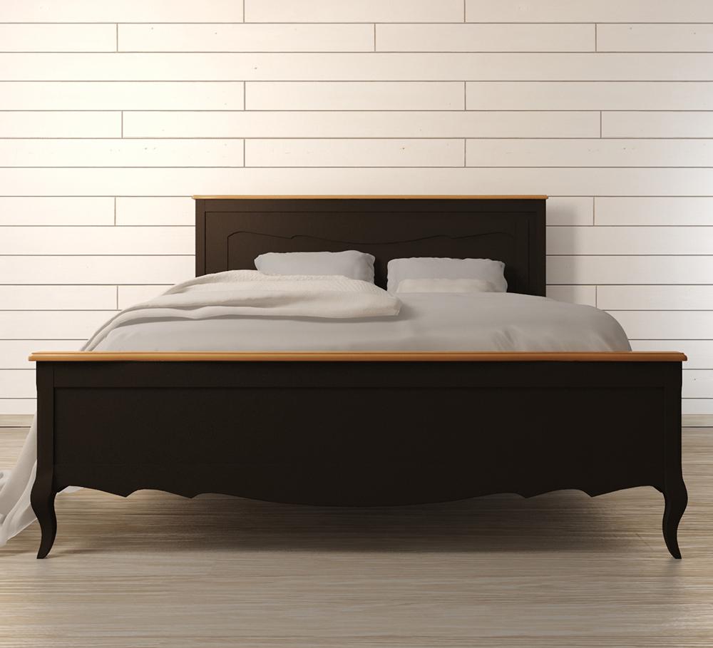 Кровать Leontina BlackДеревянные кровати<br>Материал: Массив березы,Массив ясеня.&amp;lt;div&amp;gt;Размер матраса: 180х200 см.&amp;lt;/div&amp;gt;<br><br>Material: Дерево<br>Width см: 200<br>Depth см: 180<br>Height см: 120