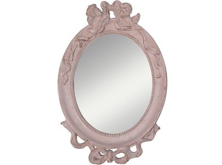 Зеркало aurora (etg-home) розовый 20x25x3 см.
