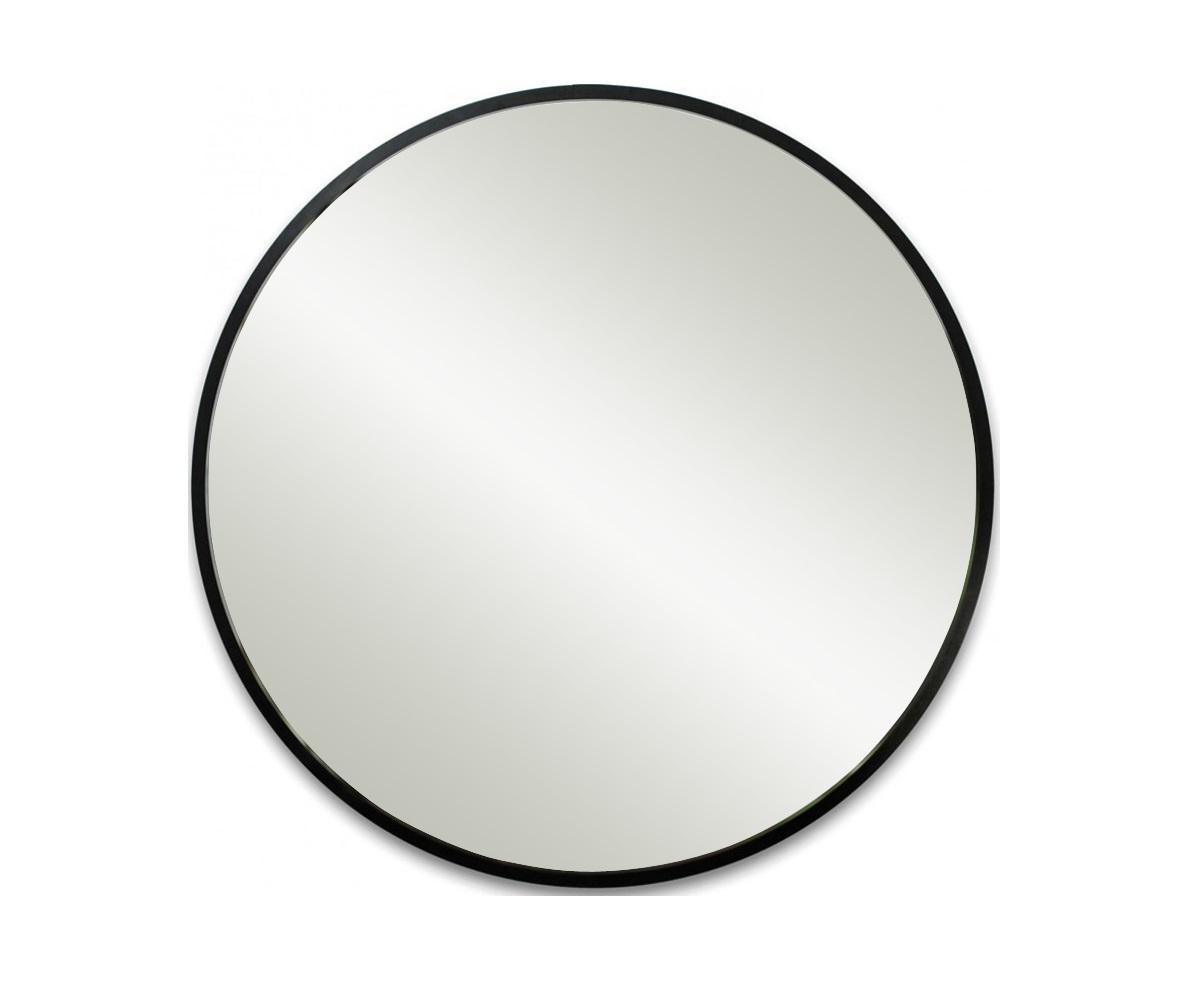 Зеркало HubНастенные зеркала<br>Мечта каждой модницы - большое-пребольшое зеркало, в котором отражается решительно всё. Думаем, Hub станет отличным решением - оно гораздо больше обычных зеркал (91 см в диаметре), в темной раме с матовым приятным покрытием, а главное, подойдет практически к любому интерьеру. Шикарное и уникальное зеркало.<br><br>Material: Стекло<br>Length см: None<br>Width см: None<br>Depth см: 1<br>Height см: None<br>Diameter см: 91