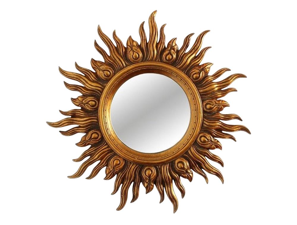 Зеркало AlcorНастенные зеркала<br><br><br>Material: Полиуретан<br>Depth см: 4.5<br>Diameter см: 45.5