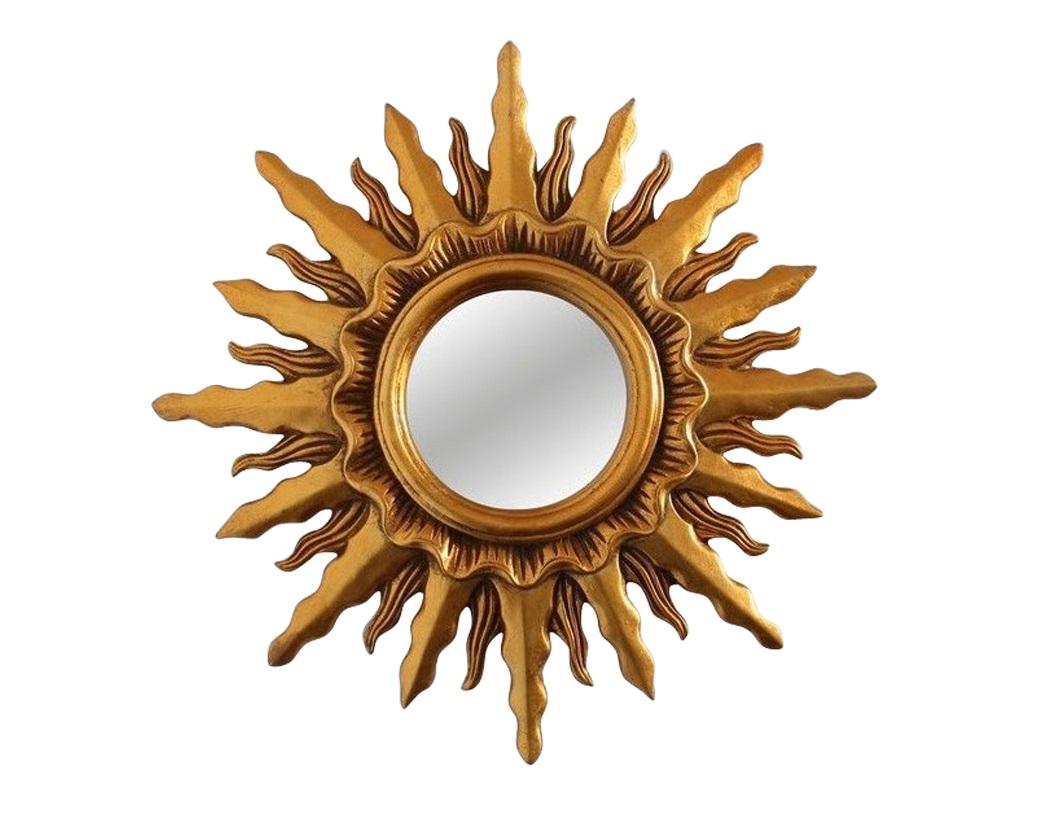 Зеркало MiraxНастенные зеркала<br><br><br>Material: Полиуретан<br>Depth см: 3.5<br>Diameter см: 43