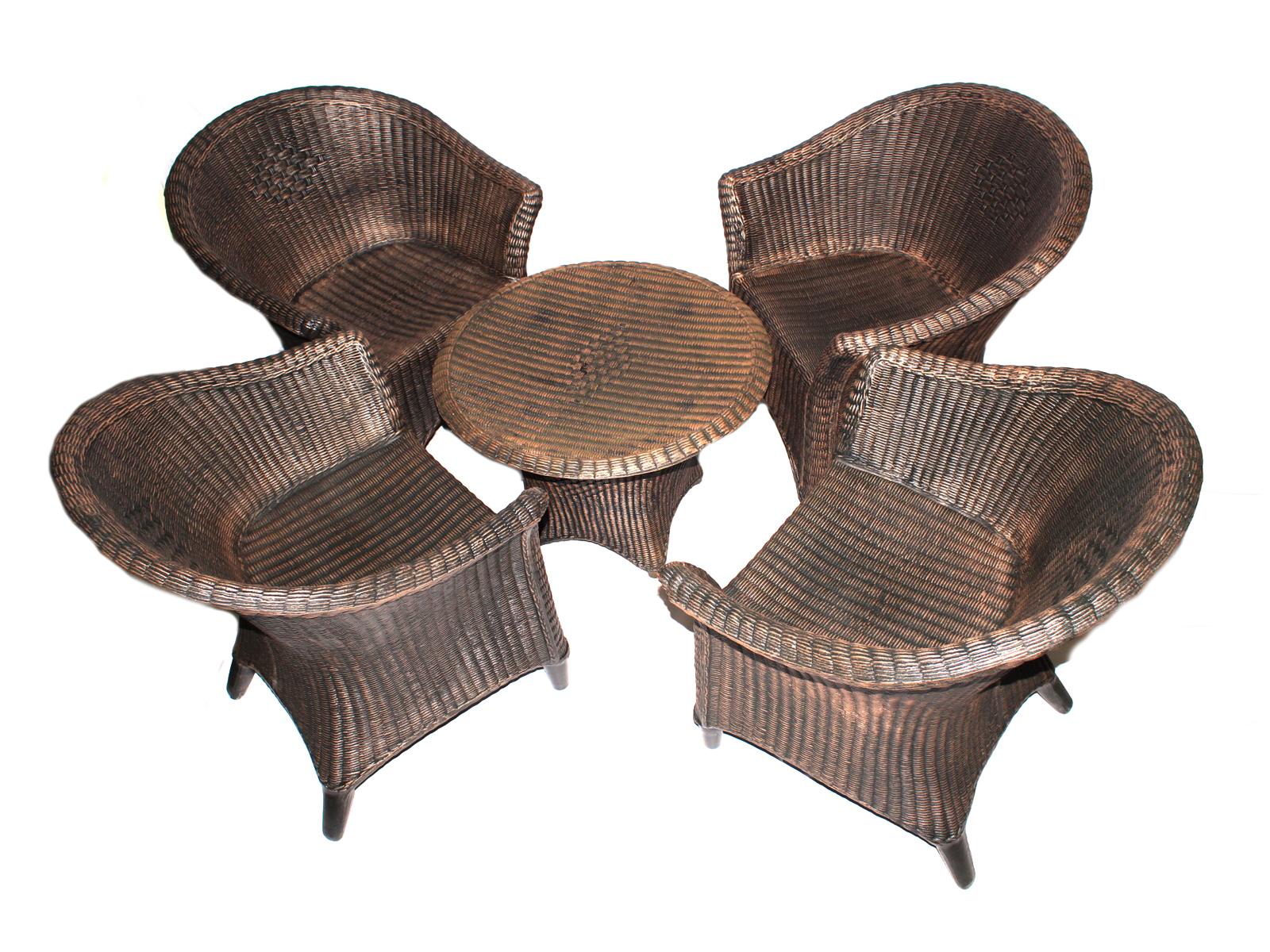 Набор мебели ротанг (green garden) коричневый