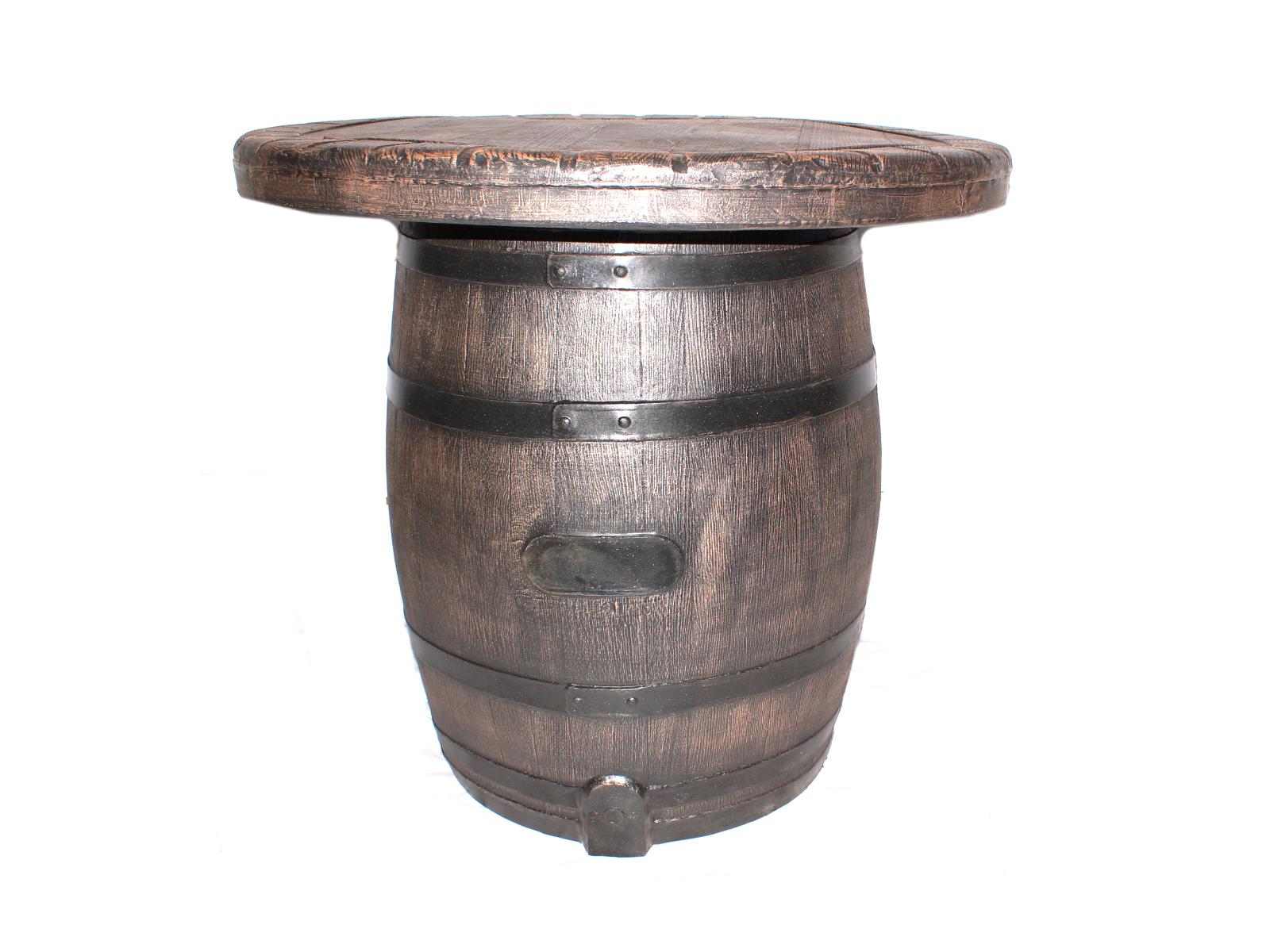 Стол БочонокСтолы и столики для сада<br><br><br>Material: Пластик<br>Height см: 90<br>Diameter см: 100