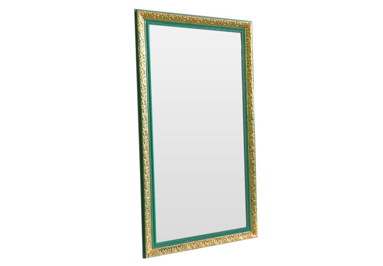 Напольное зеркало ГрациозностьНастенные зеркала<br>Зеркало ручной работы в стиле Tiffany создано для настоящей принцессы. Нежный бирюзовый цвет и золотые узоры сделают Ваш дом незабываемым!<br><br>Material: Полиуретан<br>Width см: 90<br>Depth см: 8<br>Height см: 200