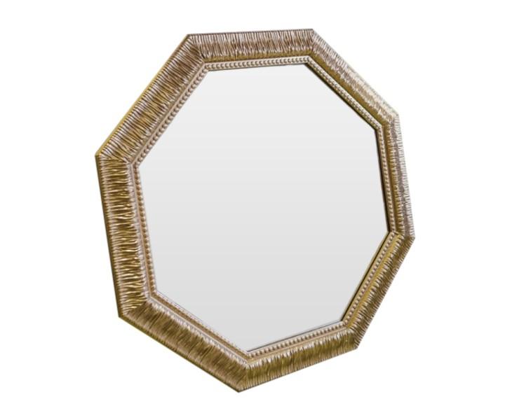 Зеркало SparkleНастенные зеркала<br>Искристость и игривое настроение этого зеркала добавят в Ваш дом смешинок, душещипательных моментов и неподдельной нежности.<br><br>Material: Полиуретан<br>Ширина см: 72<br>Высота см: 72<br>Глубина см: 4