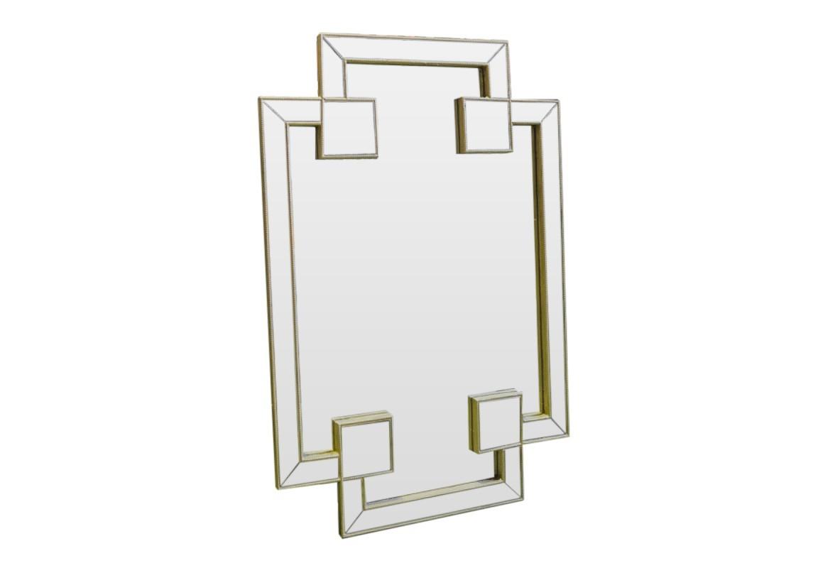 Зеркало ручной работы Помпезное блаженствоНастенные зеркала<br>Ошеломляющая форма и чрезвычайно искусная работа соединились вместе в виде зеркала Помпезное блаженство. Это творение станет настоящим украшением Вашего дома!<br><br>Material: Дерево<br>Ширина см: 80.0<br>Высота см: 120.0<br>Глубина см: 4.0