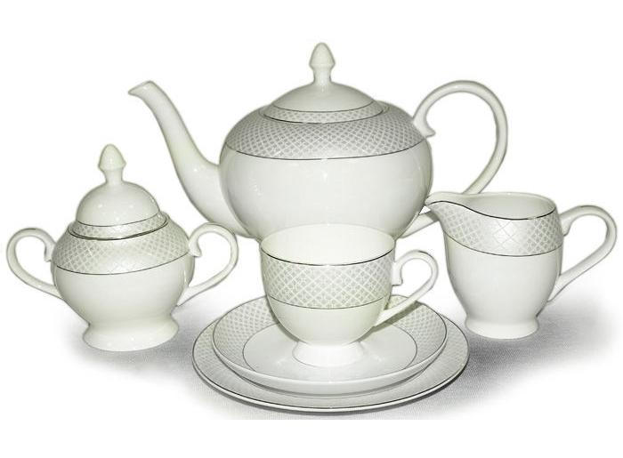 """Чайный сервиз """"Элеганс"""" 40 предметов на 12 персон"""