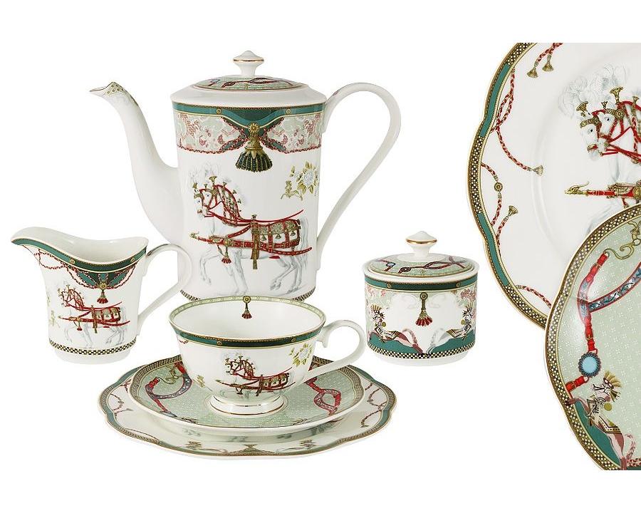 Чайный сервиз Эдинбург 39 предметов на 12 персонЧайные сервизы<br>&amp;lt;div&amp;gt;В набор входят: 12 чашек 0.25л, 12 блюдец, 12 тарелок 20см, чайник 0.9л, сахарница 0.3,молочник 0.25л.&amp;lt;/div&amp;gt;&amp;lt;div&amp;gt;&amp;lt;br&amp;gt;&amp;lt;/div&amp;gt;<br><br>Material: Фарфор