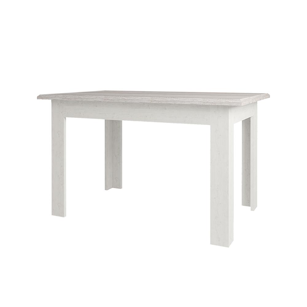 Стол раздвижной MonacoОбеденные столы<br>Классическая мебель всегда привлекает ценителей гармоничного интерьера дома. Выдержанный стиль коллекции MONAKO, благородное сочетание двух цветовых гамм - сосна винтаж и дуб анкона - создадут приятную обстановку Вашего дома.  Оригинальные металлические ручки и патина на декоративных элементах делают эту коллекцию очень элегантной, а большой модельный ряд позволит обустроить достойный интерьер.&amp;amp;nbsp;<br><br>Material: ДСП<br>Ширина см: 130<br>Высота см: 77<br>Глубина см: 80