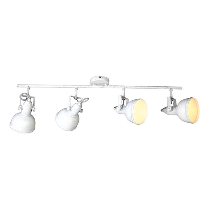 Потолочный светильник MARTINСпоты<br>Цоколь: E14<br>Мощность лампы W: 40 W<br>Количество ламп: 4<br><br>Material: Металл<br>Ширина см: 12<br>Высота см: 22