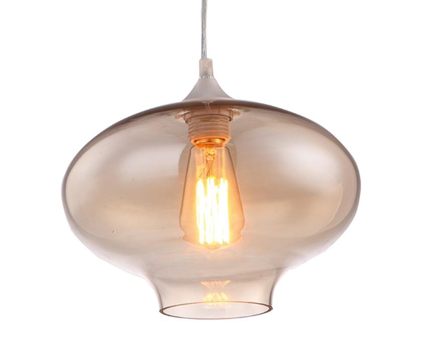Светильник подвеснойПодвесные светильники<br>&amp;lt;div&amp;gt;Цоколь: E27&amp;lt;/div&amp;gt;&amp;lt;div&amp;gt;Мощность лампы: 40W&amp;lt;/div&amp;gt;&amp;lt;div&amp;gt;Количество ламп: 1&amp;lt;/div&amp;gt;<br><br>Material: Стекло<br>Height см: 20<br>Diameter см: 27