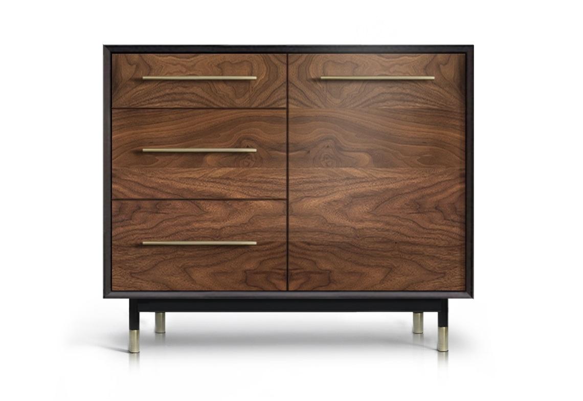 Тумба ImpalaИнтерьерные тумбы<br>&amp;lt;div&amp;gt;Контраст черного полуглянца корпуса и естественно-матовой древесной текстуры фасадов делает изделие ярким акцентом интерьера.&amp;lt;/div&amp;gt;&amp;lt;div&amp;gt;&amp;lt;br&amp;gt;&amp;lt;/div&amp;gt;&amp;lt;div&amp;gt;Материалы: корпус - массив и ламели ясеня, мебельный щит; фасады - МДФ, натуральный шпон американского ореха; покрытие - краска, лак; декоративная фурнитура - латунь патинированная вручную, матовый никель.&amp;amp;nbsp;&amp;lt;/div&amp;gt;&amp;lt;div&amp;gt;Конфигурация: 3 ящика / 2 двери (полки).&amp;amp;nbsp;&amp;lt;/div&amp;gt;<br><br>Material: Дерево<br>Width см: 103<br>Depth см: 50<br>Height см: 84