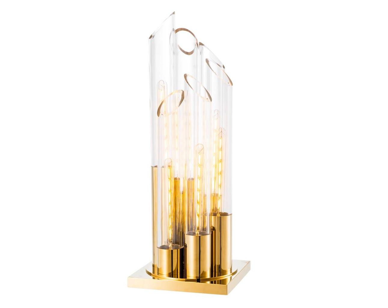 Настольная лампа Table Lamp ParadisoДекоративные лампы<br>&amp;lt;div&amp;gt;Вид цоколя: E27&amp;lt;br&amp;gt;&amp;lt;/div&amp;gt;&amp;lt;div&amp;gt;&amp;lt;div&amp;gt;Мощность: 40W&amp;lt;/div&amp;gt;&amp;lt;div&amp;gt;Количество ламп: 6 (нет в комплекте)&amp;lt;/div&amp;gt;&amp;lt;/div&amp;gt;<br><br>Material: Металл<br>Width см: 30<br>Depth см: 30<br>Height см: 80