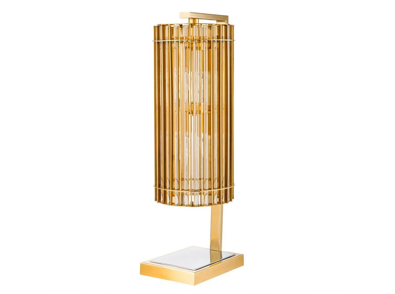 Настольная лампа Table Lamp PimlicoДекоративные лампы<br>&amp;lt;div&amp;gt;Вид цоколя: E14&amp;lt;br&amp;gt;&amp;lt;/div&amp;gt;&amp;lt;div&amp;gt;&amp;lt;div&amp;gt;Мощность: 40W&amp;lt;/div&amp;gt;&amp;lt;div&amp;gt;Количество ламп: 4 (нет в комплекте)&amp;lt;/div&amp;gt;&amp;lt;/div&amp;gt;<br><br>Material: Металл<br>Width см: 16,5<br>Depth см: 23<br>Height см: 66
