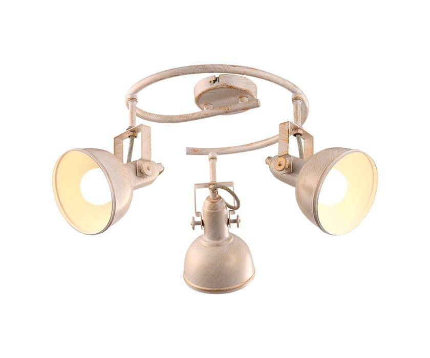 Потолочный светильникСпоты<br>&amp;lt;div&amp;gt;Вид цоколя: Е14&amp;lt;/div&amp;gt;&amp;lt;div&amp;gt;Мощность лампы: 40W&amp;lt;/div&amp;gt;&amp;lt;div&amp;gt;Количество ламп: 3&amp;lt;/div&amp;gt;&amp;lt;div&amp;gt;Наличие ламп: нет&amp;lt;/div&amp;gt;<br><br>Material: Металл<br>Height см: 23<br>Diameter см: 36