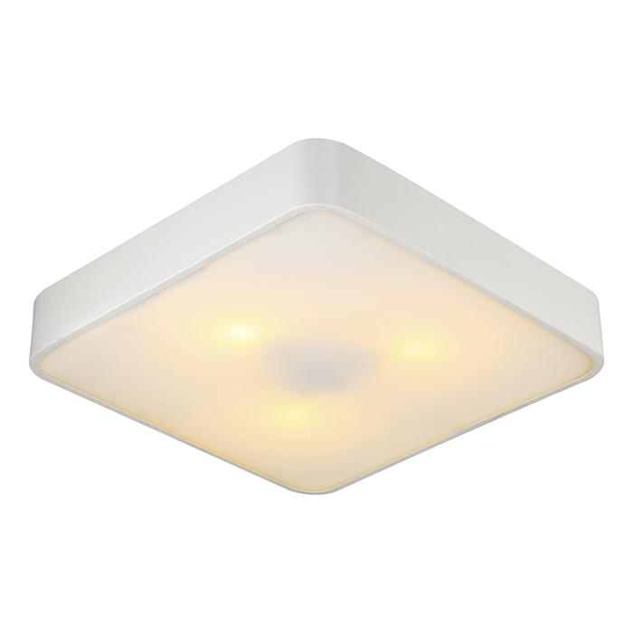 Потолочный светильникПотолочные светильники<br>&amp;lt;div&amp;gt;Вид цоколя: Е27&amp;lt;/div&amp;gt;&amp;lt;div&amp;gt;Мощность лампы: 60W&amp;lt;/div&amp;gt;&amp;lt;div&amp;gt;Количество ламп: 3&amp;lt;/div&amp;gt;&amp;lt;div&amp;gt;Наличие ламп: нет&amp;lt;/div&amp;gt;<br><br>Material: Стекло<br>Ширина см: 40<br>Высота см: 8<br>Глубина см: 40