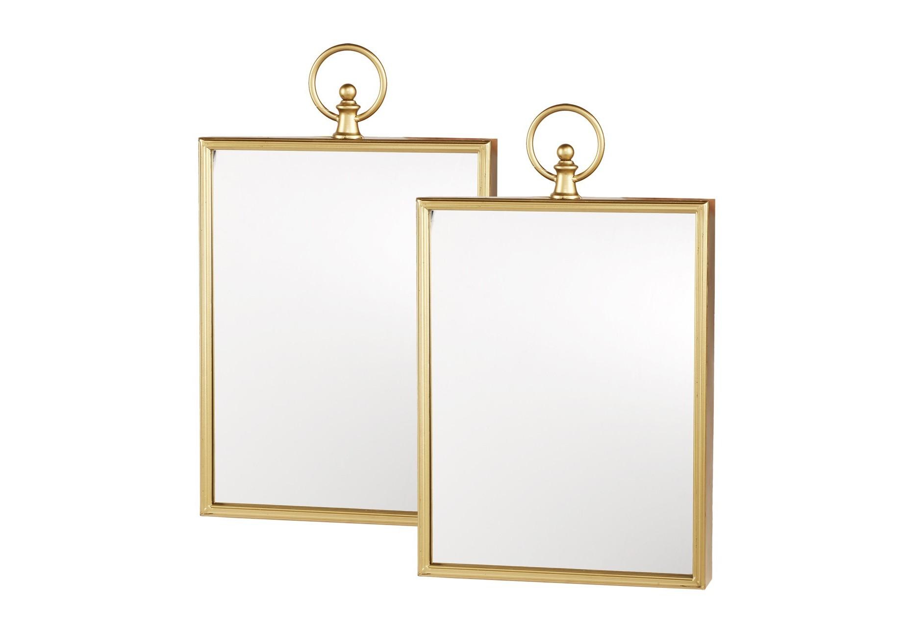 Зеркало (2шт)Настенные зеркала<br><br><br>Material: Металл<br>Width см: 33<br>Depth см: 6,5<br>Height см: 53