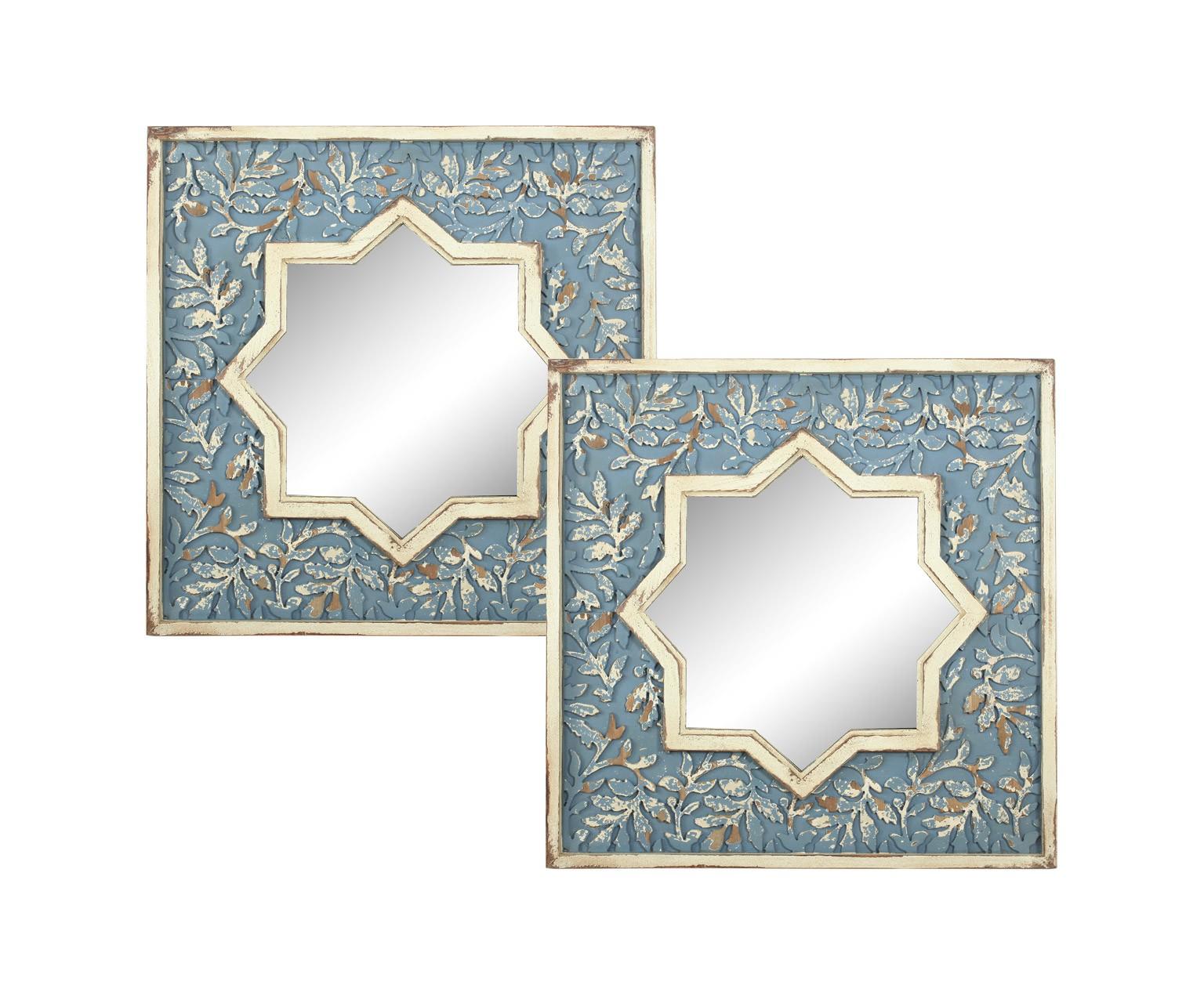 Зеркало (2шт)Настенные зеркала<br><br><br>Material: Дерево<br>Width см: 71<br>Depth см: 4<br>Height см: 71