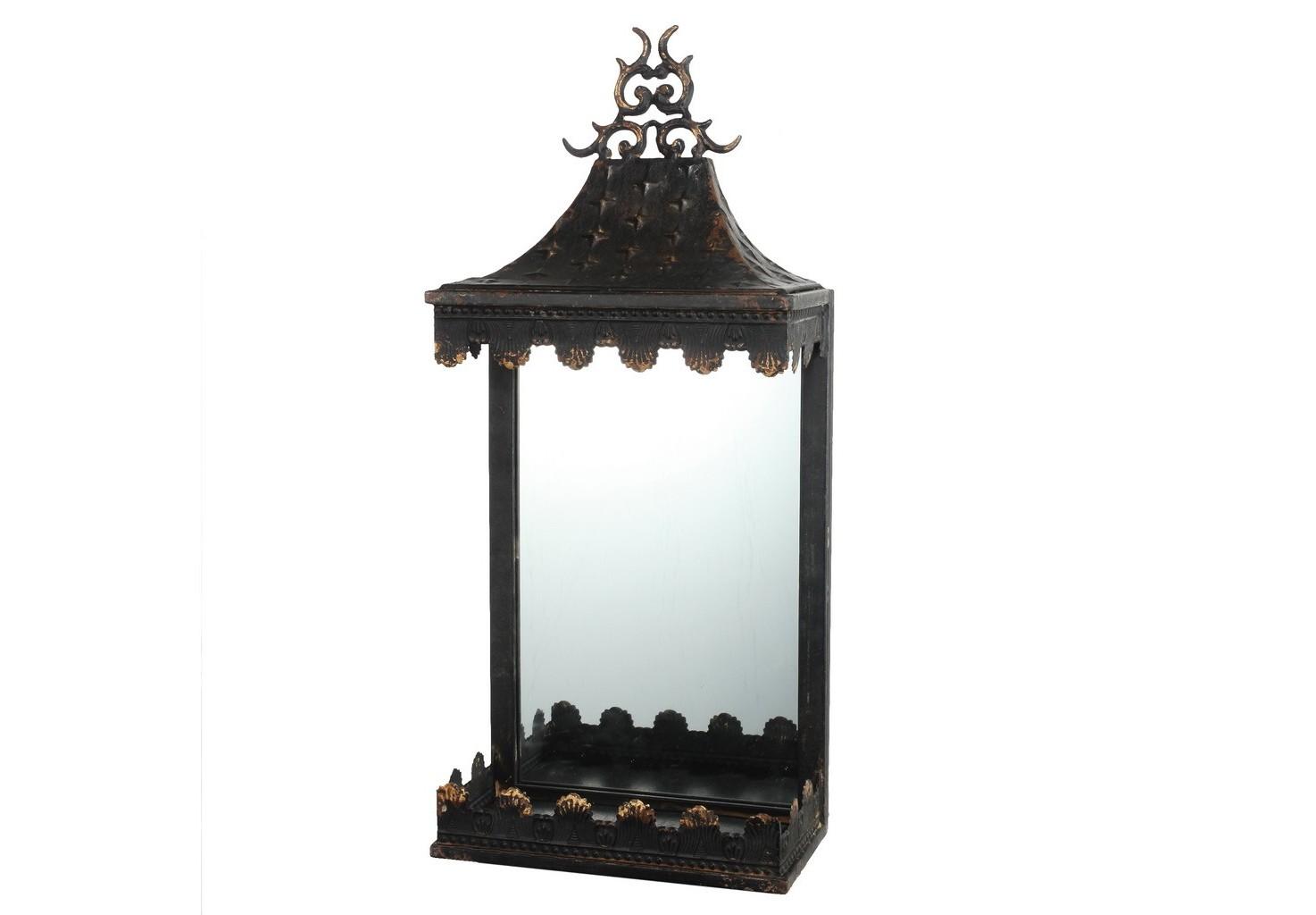 ЗеркалоНастенные зеркала<br><br><br>Material: Металл<br>Ширина см: 25<br>Высота см: 58<br>Глубина см: 14