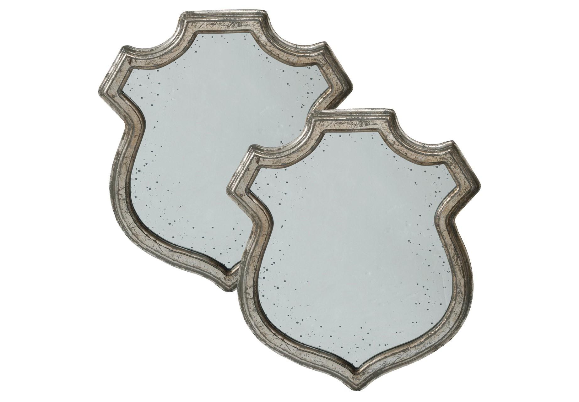 Зеркало настенное (2шт)Настенные зеркала<br><br><br>Material: Дерево<br>Width см: 33<br>Depth см: 2<br>Height см: 38
