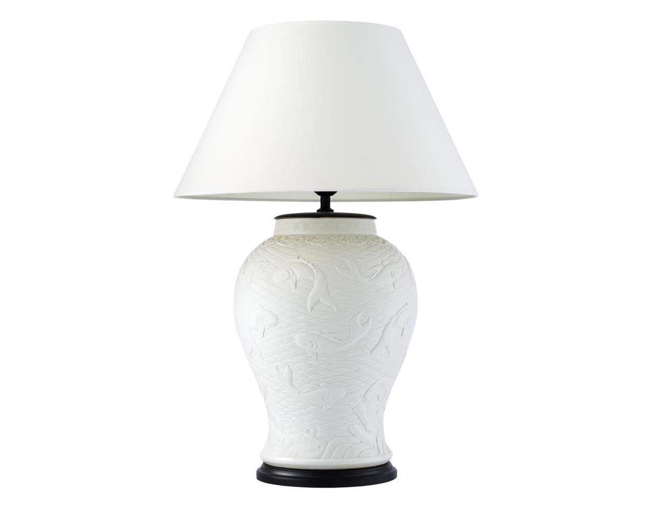 Настольная лампа Table Lamp DupointДекоративные лампы<br>&amp;lt;div&amp;gt;Вид цоколя: E27&amp;lt;br&amp;gt;&amp;lt;/div&amp;gt;&amp;lt;div&amp;gt;&amp;lt;div&amp;gt;Мощность: 60W&amp;lt;/div&amp;gt;&amp;lt;div&amp;gt;Количество ламп: 1 (нет в комплекте)&amp;lt;/div&amp;gt;&amp;lt;/div&amp;gt;<br><br>Material: Керамика<br>Height см: 96<br>Diameter см: 65