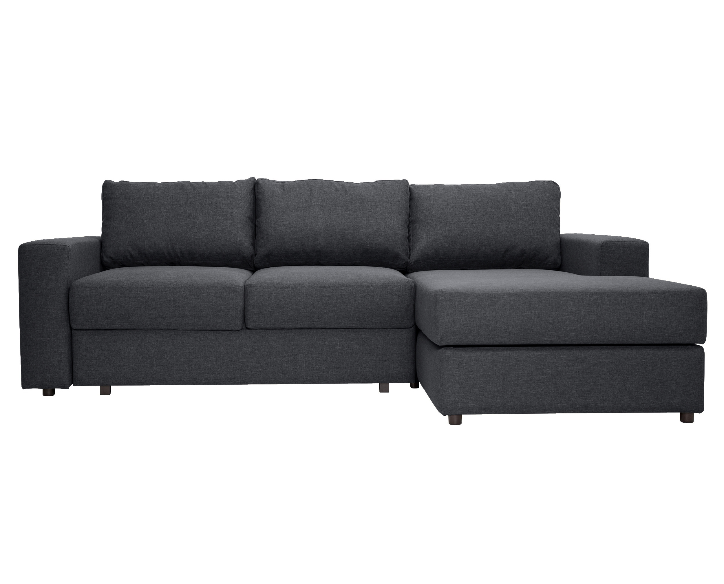 """Угловой раскладной диван """"Luma Dark"""""""