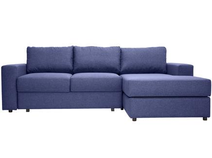 Угловой раскладной диван luma (myfurnish) фиолетовый 250x79x158 см.