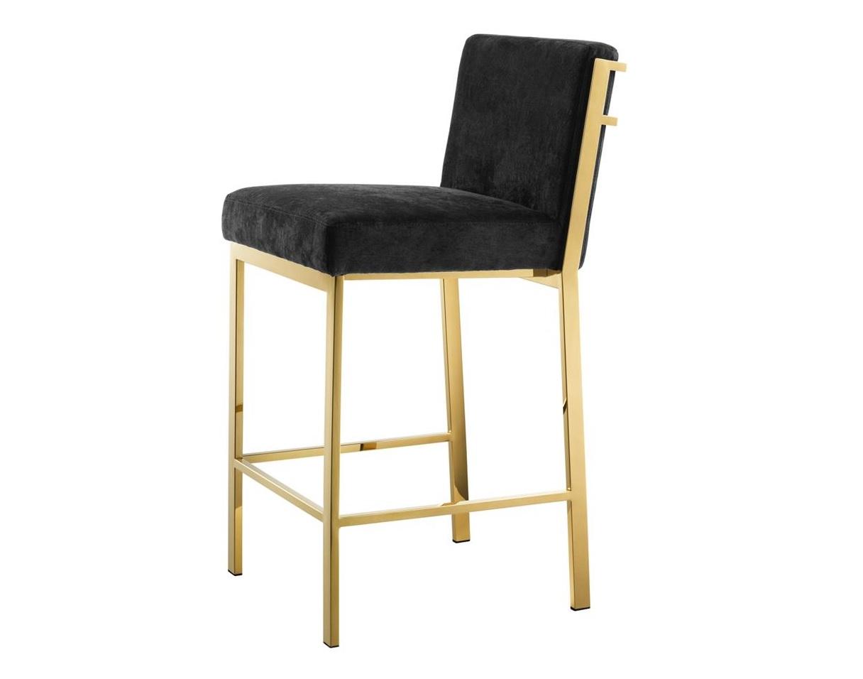 Стул Barstool ScottБарные стулья<br><br><br>Material: Текстиль<br>Ширина см: 43<br>Высота см: 91<br>Глубина см: 54