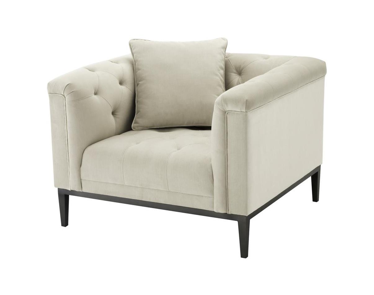 Кресло Chair CesareИнтерьерные кресла<br><br><br>Material: Текстиль<br>Width см: 103<br>Depth см: 97<br>Height см: 75