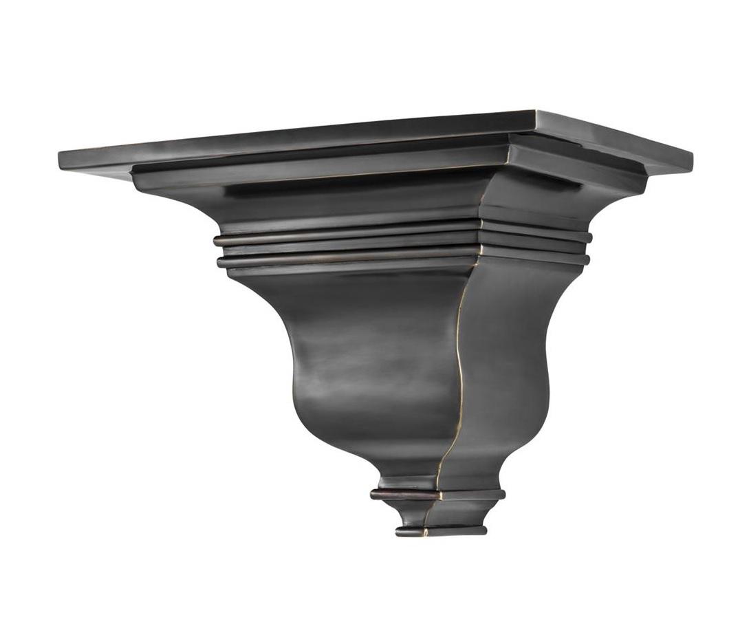 Настенная полка-консоль Wall Corbel EvasionПолки<br><br><br>Material: Металл<br>Ширина см: 34.0<br>Высота см: 25.0<br>Глубина см: 25.0