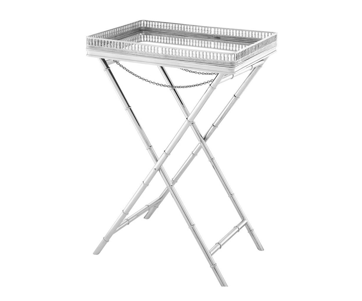 Столик Butler Tray IsolaСервировочные столики<br><br><br>Material: Металл<br>Ширина см: 61<br>Высота см: 87<br>Глубина см: 43