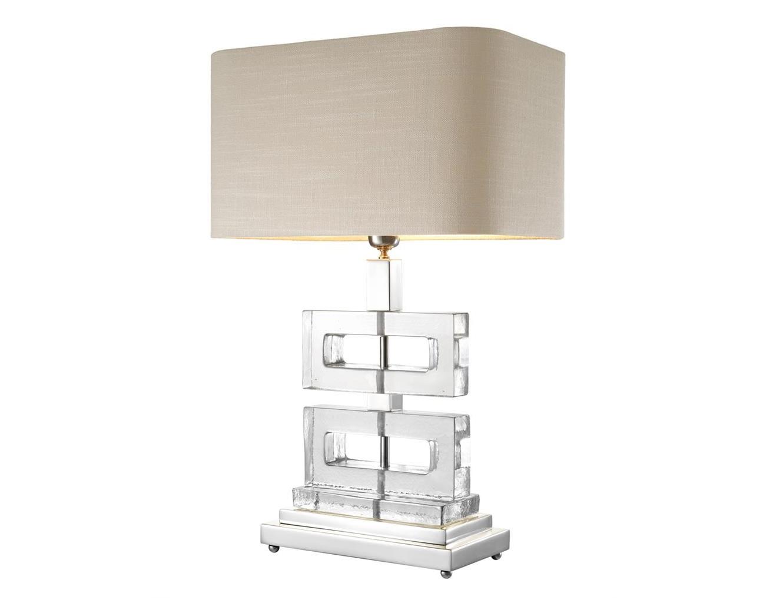 Настольная лампа Table Lamp UmbriaДекоративные лампы<br>&amp;lt;div&amp;gt;Вид цоколя: E27&amp;lt;br&amp;gt;&amp;lt;/div&amp;gt;&amp;lt;div&amp;gt;&amp;lt;div&amp;gt;Мощность: 40W&amp;lt;/div&amp;gt;&amp;lt;div&amp;gt;Количество ламп: 1 (нет в комплекте)&amp;lt;/div&amp;gt;&amp;lt;/div&amp;gt;<br><br>Material: Стекло<br>Ширина см: 45<br>Высота см: 70<br>Глубина см: 31