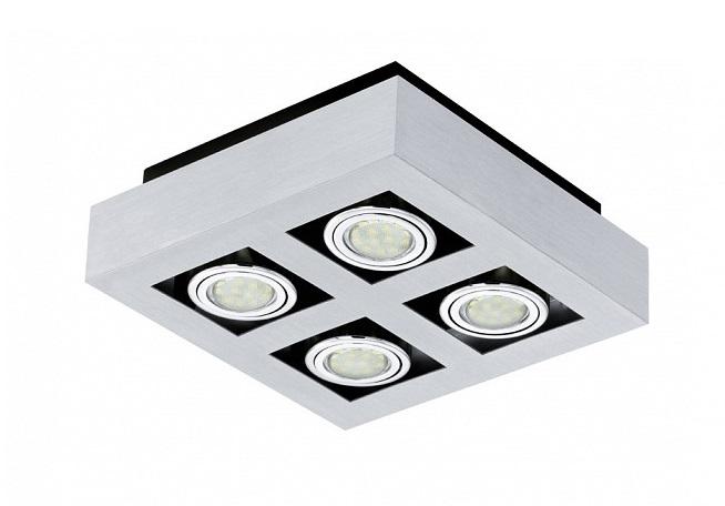 Накладной светильник Loke 1Потолочные светильники<br>&amp;lt;div&amp;gt;Вид цоколя: GU10&amp;lt;/div&amp;gt;&amp;lt;div&amp;gt;Мощность: 3W&amp;lt;/div&amp;gt;&amp;lt;div&amp;gt;Количество ламп: 4 (нет в комплекте)&amp;lt;/div&amp;gt;<br><br>Material: Металл<br>Length см: None<br>Width см: 25<br>Depth см: 25<br>Height см: 7.5