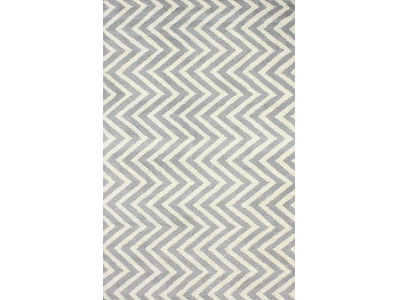 Ковер Vertical Zig-Zag 180х120Прямоугольные ковры<br>Серый ковер с рисунком зиг-заг (шеврон) искусно сочетает в себе модный рисунок и классику вне времени. Ковер с таким узором легко сделает современным, интерьер в любой комнате. Выполненный по технологии ручного тафтинга, из настоящей шерсти — придаст тепла и мягкости вашим полам.&amp;amp;nbsp;&amp;lt;div&amp;gt;&amp;lt;br&amp;gt;&amp;lt;/div&amp;gt;&amp;lt;div&amp;gt;Ковер может быть изготовлен в любом из широкого спектра цветов: серый, черный, светло-голубой, бежевый, горчичный, синий, голубой, темно-синий, зеленый, кремовый, розовый, оранжевый.&amp;lt;/div&amp;gt;<br><br>Material: Шерсть<br>Ширина см: 120<br>Глубина см: 180