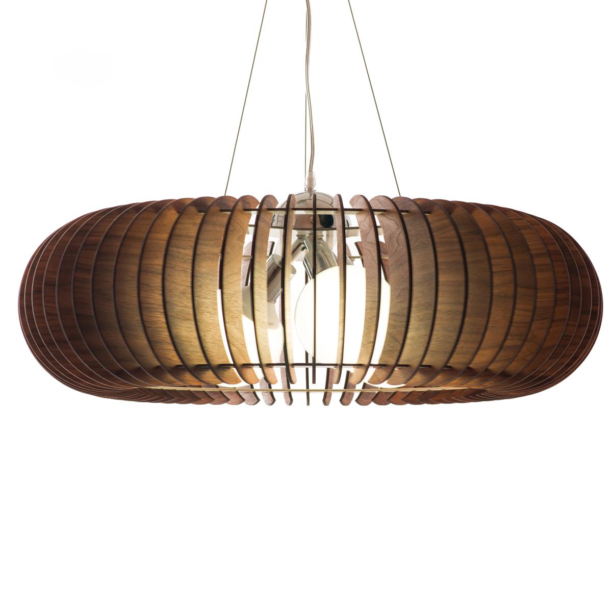 Люстра СпутникПодвесные светильники<br>Элегантная открытая форма люстры позволяет монтировать ее в разных помещениях как по стилю, так и по площади. Использование деревянных ламелей в сочетании с хромированной фурнитурой предают светильнику орбитальную невесомость.&amp;amp;nbsp;&amp;lt;div&amp;gt;&amp;lt;br&amp;gt;&amp;lt;/div&amp;gt;&amp;lt;div&amp;gt;&amp;lt;div&amp;gt;Тип цоколя: E27&amp;lt;/div&amp;gt;&amp;lt;div&amp;gt;Мощность: 60W&amp;lt;/div&amp;gt;&amp;lt;div&amp;gt;Кол-во ламп: 3 (нет в комплекте)&amp;lt;/div&amp;gt;&amp;lt;/div&amp;gt;<br><br>Material: Шпон<br>Height см: 22<br>Diameter см: 65