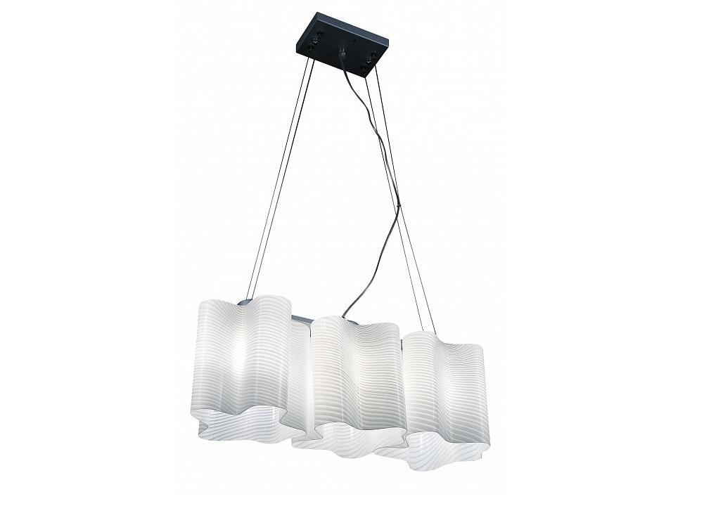 Подвесная люстра Nubi OndosoПодвесные светильники<br>&amp;lt;div&amp;gt;Вид цоколя: E27&amp;lt;/div&amp;gt;&amp;lt;div&amp;gt;Мощность: &amp;amp;nbsp;40W&amp;amp;nbsp;&amp;lt;/div&amp;gt;&amp;lt;div&amp;gt;Количество ламп: 3 (нет в комплекте)&amp;lt;/div&amp;gt;<br><br>Material: Металл<br>Length см: 54<br>Width см: 20<br>Height см: 40