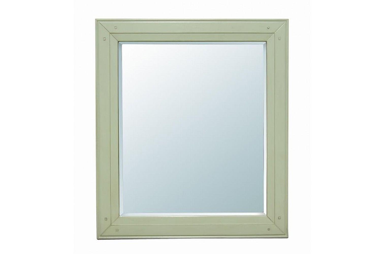 Зеркало OliviaНастенные зеркала<br>&amp;quot;Olivia&amp;quot; ? декор, в простоте которого можно разглядеть истинную элегантность. Лаконичное оформление строится на красоте правильных пропорций и отсутствии яркой отделки. Квадратная рама из натуральной древесины выполнена в однотонной гамме. Нежно-зеленый цвет, ассоциирующийся с приходом весны, идеально подходит для прованских интерьеров, где превозносится природная красота.<br><br>Material: Береза<br>Length см: None<br>Width см: 68<br>Depth см: 2<br>Height см: 77<br>Diameter см: None