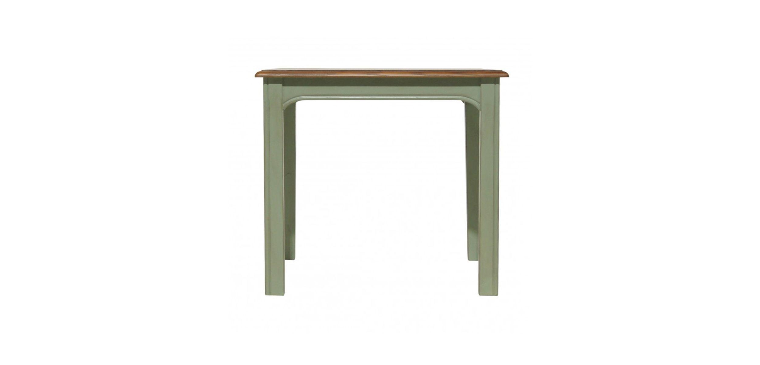 Консоль olivia (etg-home) зеленый 65x60x55 см. фото