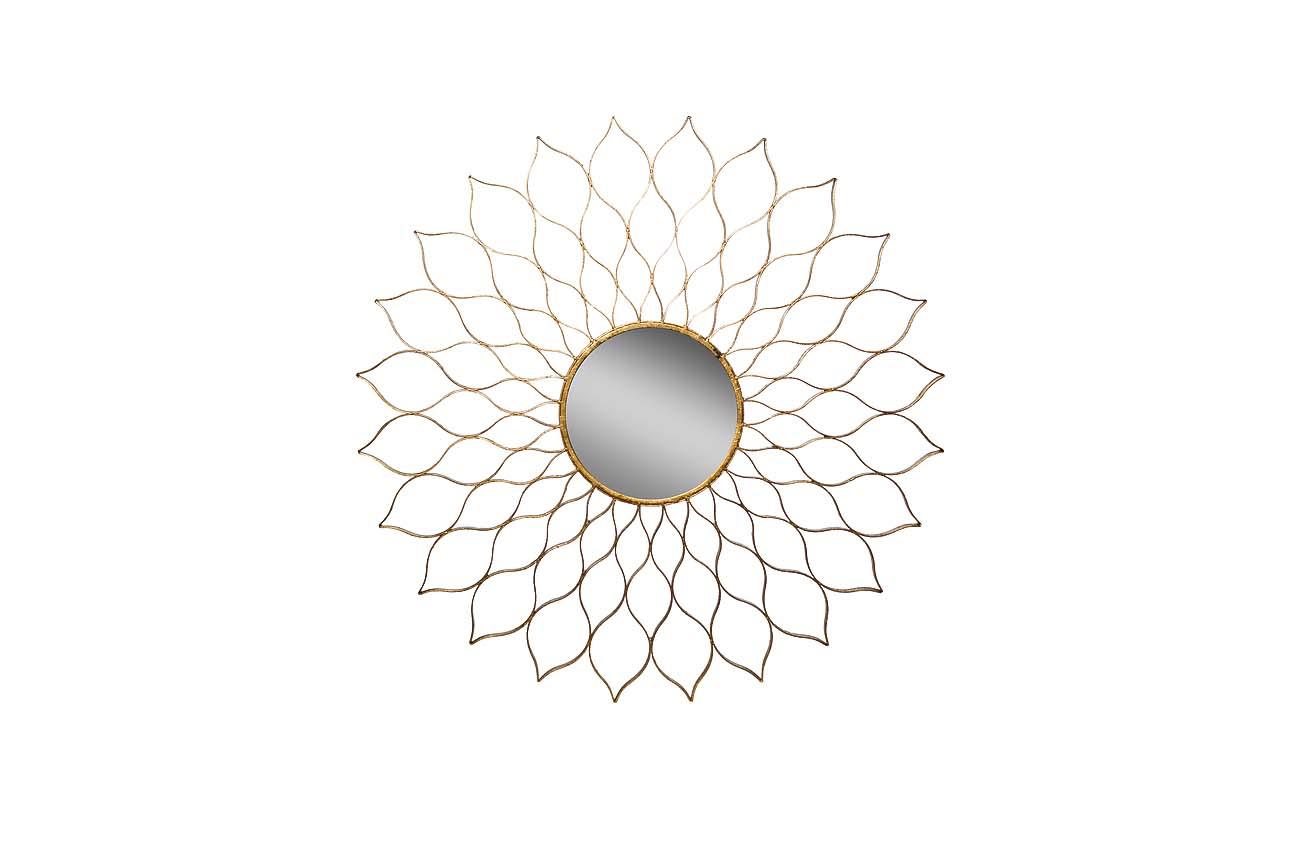 ЗеркалоНастенные зеркала<br>Центральное зеркало диаметром 25 см.<br><br>Material: Металл