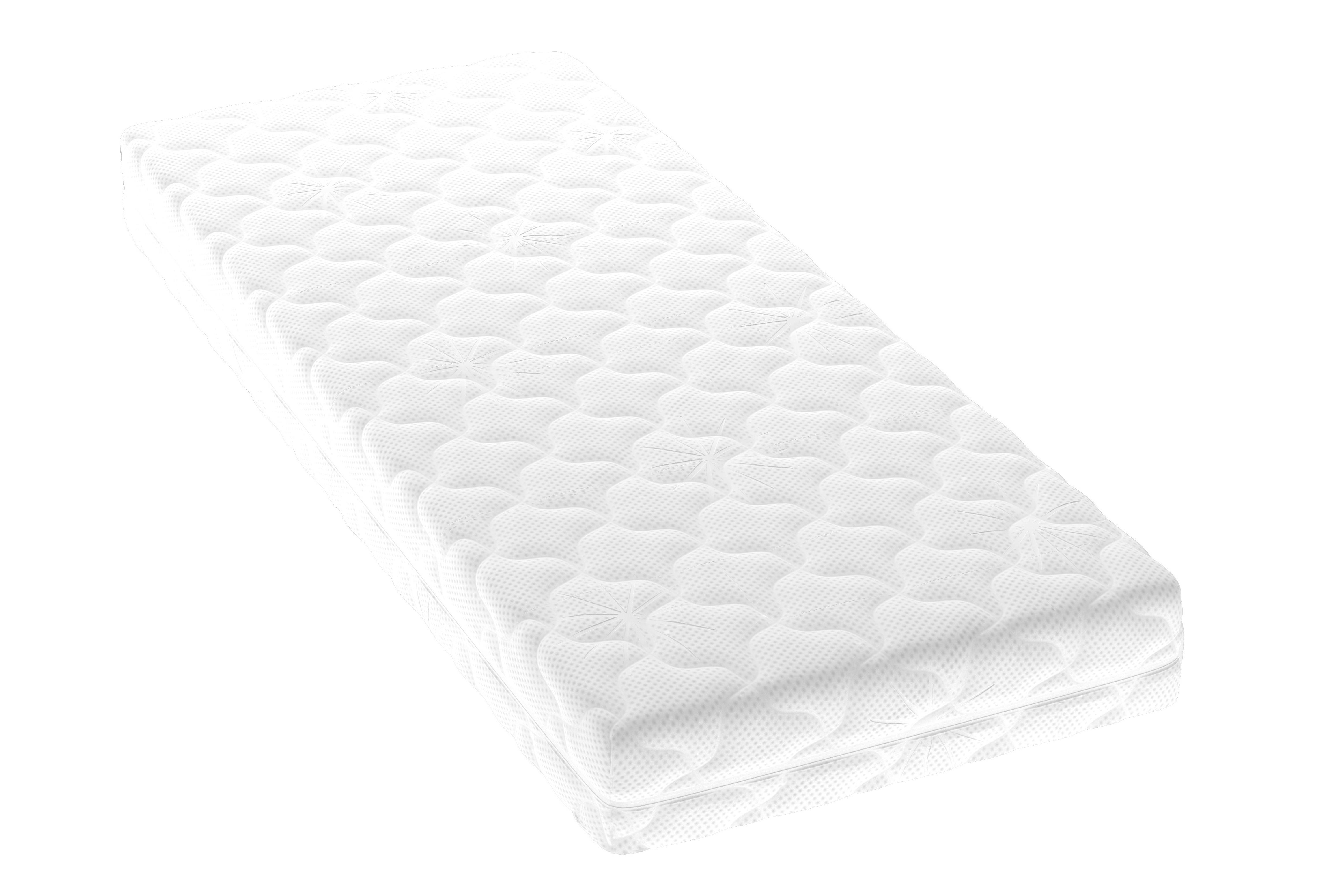 Матрас Tempo 190x140Беспружинные полутороспальные матрасы<br>Матрас из современного эластичного материала Smartflex Soft. Материал мягок и приятен на ощупь, гипоаллергенен, благодаря своей пористой структуре хорошо вентилируется.&amp;amp;nbsp;&amp;lt;div&amp;gt;&amp;lt;br&amp;gt;&amp;lt;/div&amp;gt;&amp;lt;div&amp;gt;Компактная упаковка в виде рулона и небольшой вес облегчают транспортировку матраса, делая его идеальным для быстрого обустройства спального места. Чехол из практичной трикотажной ткани Jersey, делающей его простым в уходе. Ткань чехла мягкая и эластичная на ощупь, имеет приятную фактуру, не сминается, устойчива к пятнам, не способствует размножению бактерий и пылевых клещей.&amp;amp;nbsp;&amp;lt;/div&amp;gt;&amp;lt;div&amp;gt;Матрас Tempo – для тех, кто привык жить в быстром темпе!&amp;lt;/div&amp;gt;<br><br>Material: Текстиль<br>Ширина см: 140<br>Высота см: 17<br>Глубина см: 190